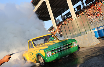 Win $69 with a 69 Second Burnout - Truck Nationals Burnout Contest