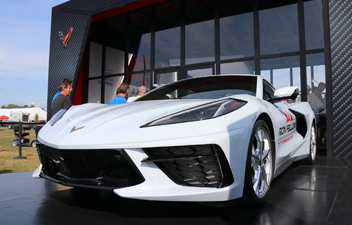 All New C8 Corvette and Team Chevrolet Display Returns to Corvettes at Carlisle