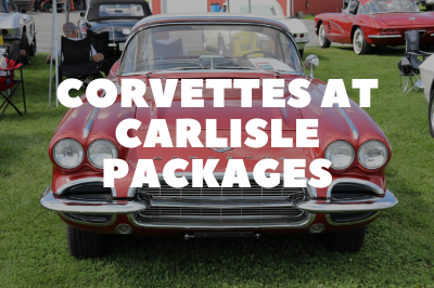 Corvettes at Carlisle Packages Are Available!