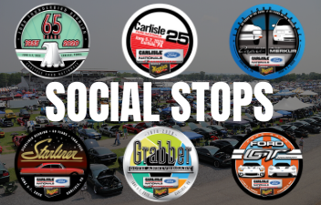 Collect 2021 Ford Nationals Stickers Through Social Stops